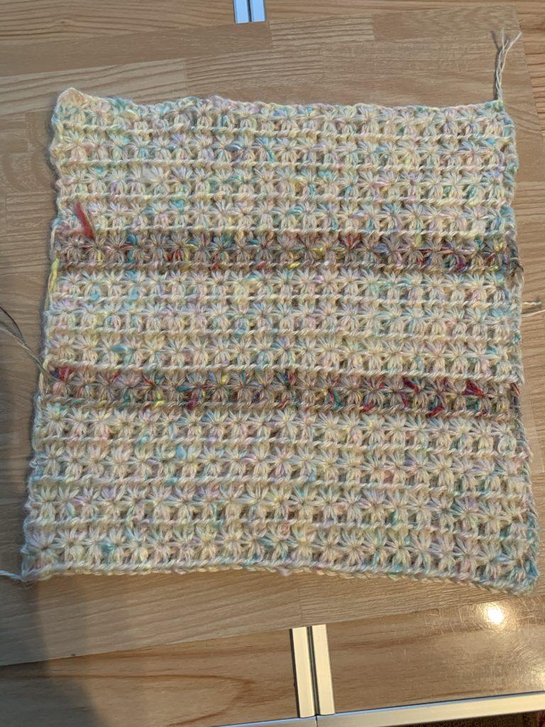 スターステッチ編み
