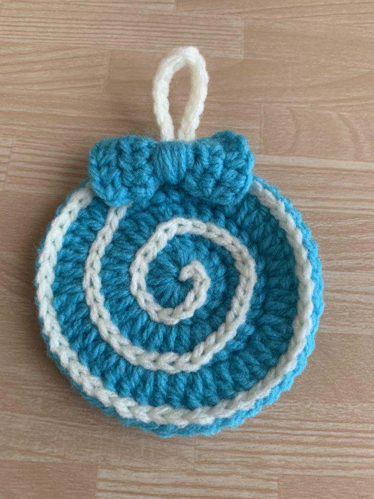 ペロペロキャンディ大きいサイズリボンの編み方