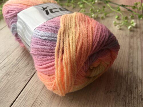 アイスヤーン カラフル毛糸