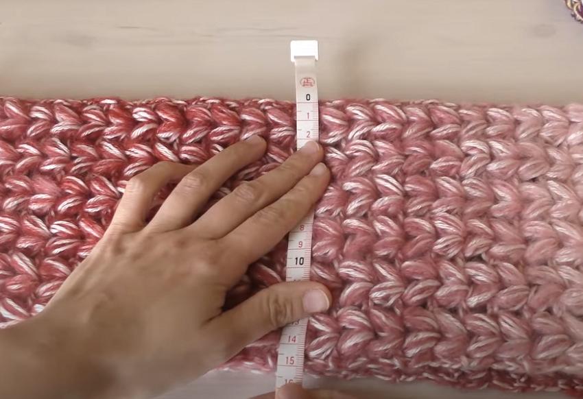 ふんわり柔らか♪ハート模様のマフラーの編み方